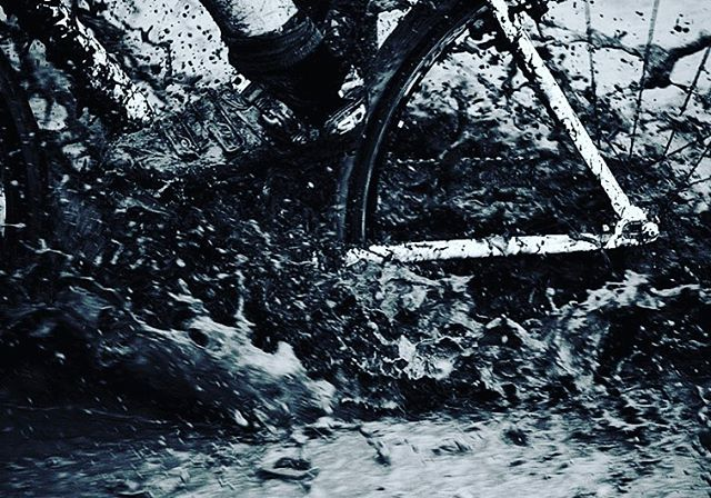 "Day 2 Tri-StarCX! The forecast is bleak, so we have no qualms in promising rain, mud, pain, in addition to obstacles and beer; all the essential components of a cross race. Hope to see you there - it'll be ""fun"" #tristarcx #ninetywestracing #crossisboss #letusbekidsagain #mudsweatandbeers"