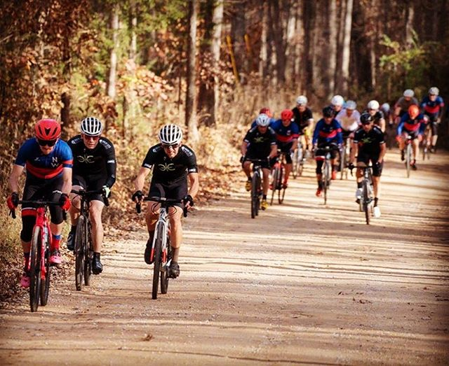 The Saturday Squad at the R.A.P.T.O.R. Gravel Grinder. #gravelgrinder #gravelbike #kom