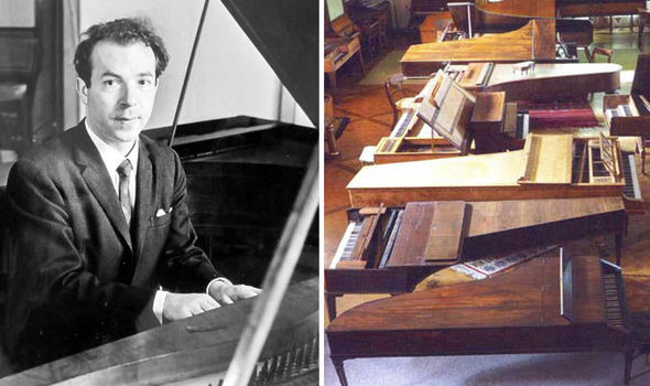 Historic piano collection could fetch £1 MILLION at auction (Published by the Daily Express)    MORE than 110 pianos owned by classical music enthusiast Charles Colt are tipped to sell for a seven-figure sum. A collection that started with a £6 piano could soon sell for £1 million at an auction.