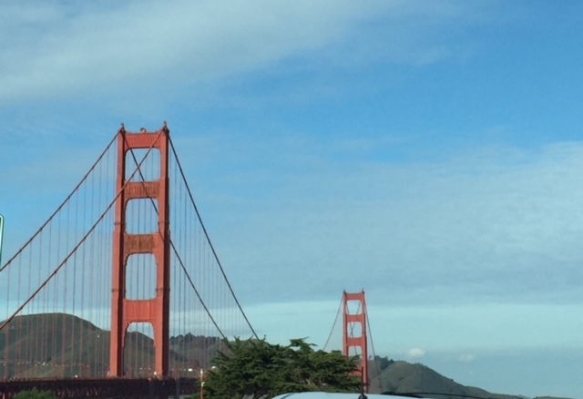 The Golden Gate Bridge. Photo by  Ritu Saheb, Architect, AIA
