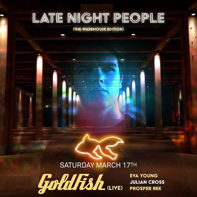 Can't wait to play this saturday @goldfishlive !