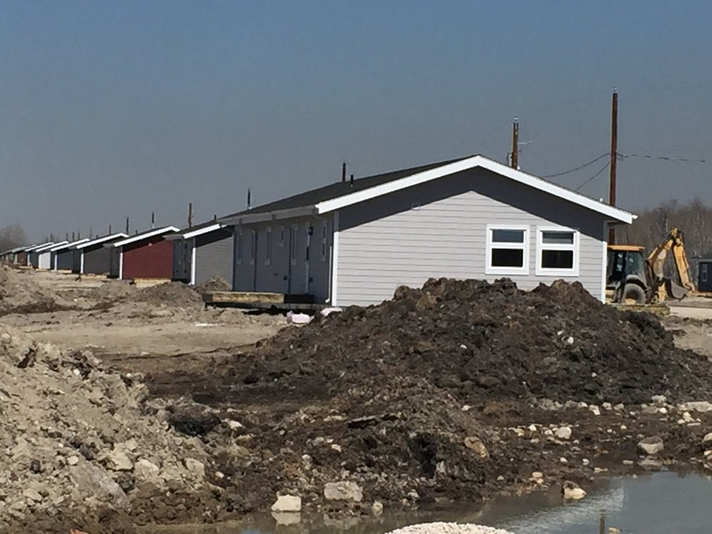 O-Chi-Chak-Ko-Sipi First Nation Housing - Demolition, relocation and new construction of single-family dwellings in Crane River, MB.