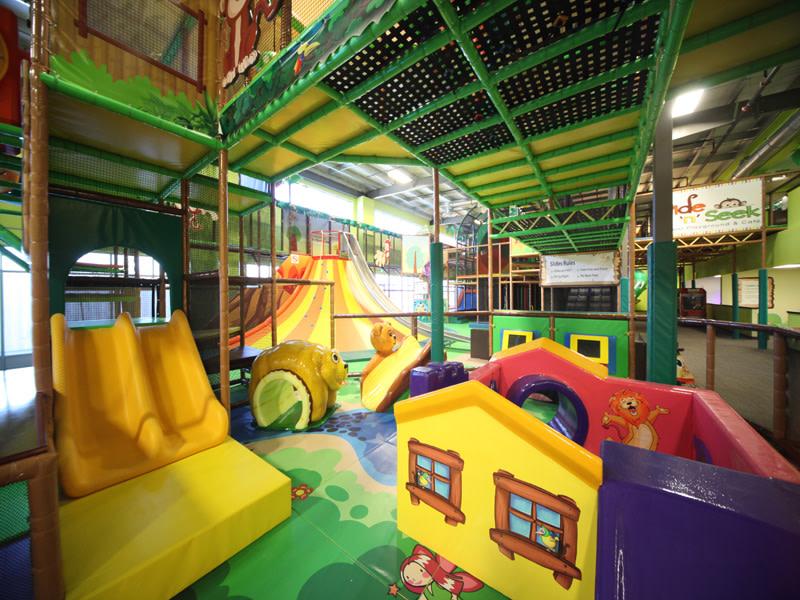 Hide n' Seek Indoor Playground - A children's indoor playground in Southwest Winnipeg, MB.