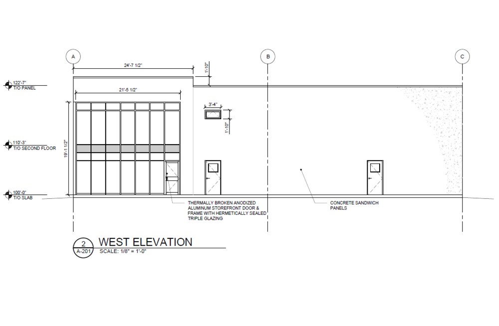 Omar's Environmental - New multi-tenant commercial / industrial building in West St. Paul, MB.