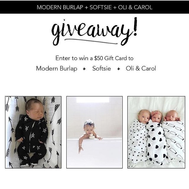 We are so excited to team up with @softsie and @modernburlap to give one lucky winner the ultimate bundle! To enter: ➕ LIKE this photo ➕ FOLLOW all shops! ➕Tag your friends who love shopping small!! Giveaway will end in 24 hours. Winner will be announced in the comments below. That's it! Have fun, and good luck! 😘 *This giveaway is in no way sponsored by Instagram.*