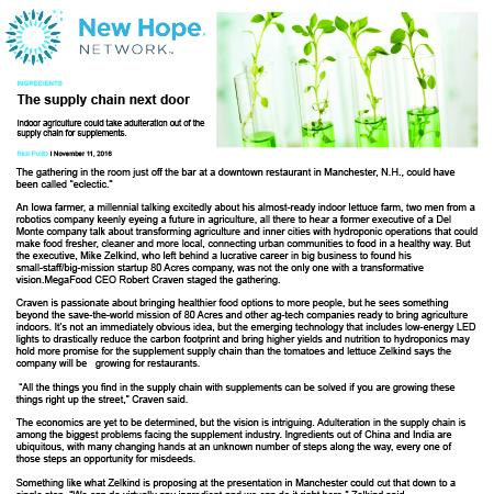 New Hope Network Nov 2016