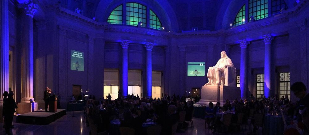 6th Annual Mission Possible Fundraiser, Franklin Institute, Philadelphia PA