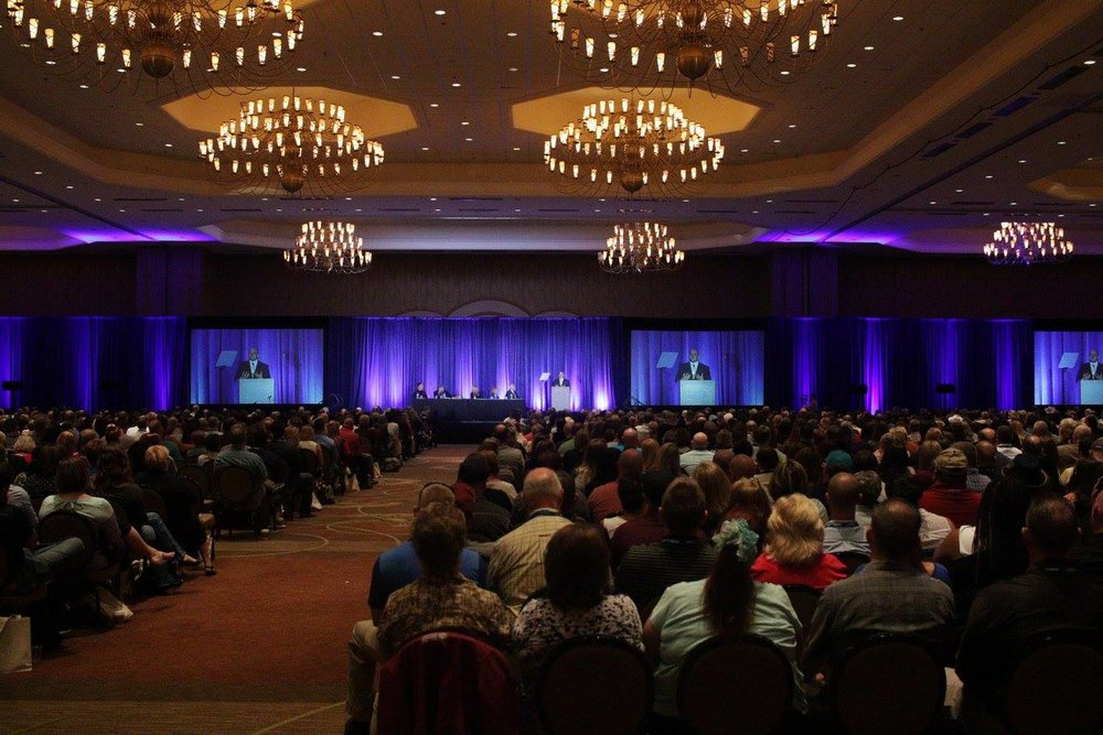 Sasha delivers his Keynote Speech at the 28th Annual Crimes Against Children Conference, Dallas TX.
