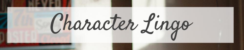 Character Lingo