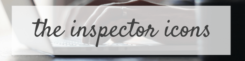 Inspector Icons