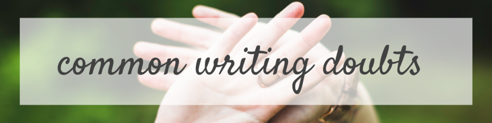 Common Writing Doubts