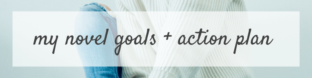 My Novel Goals and Action Plan