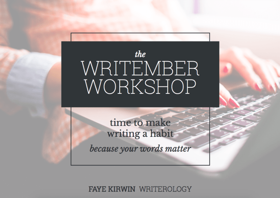 Are you ready to learn how to write every day? Check out my own daily writing journey and learn how the Writember Workshop by Faye Kirwin of Writerology changed my life forever! ShesNovel.com