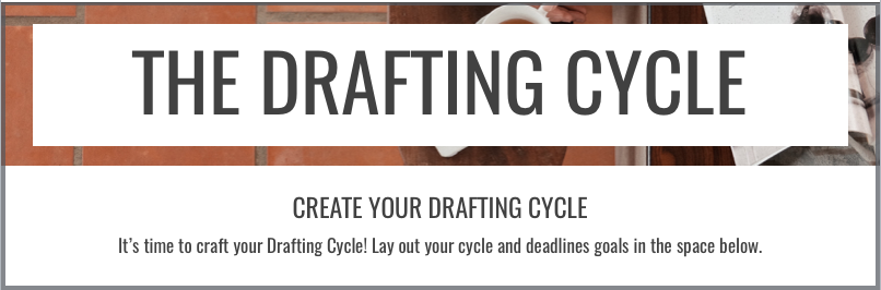 Have multiple novels in the works? Learn to finish them faster using the same technique the pros use: the drafting cycle! Click through to learn how via ShesNovel.com