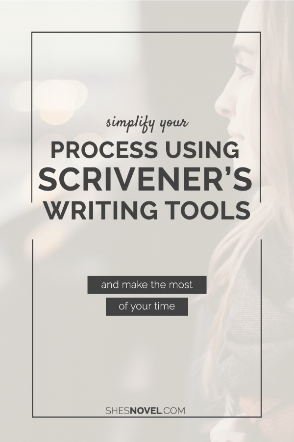Ready to simplify your writing process so that you can make the most of your time? Check out this article on using Scrivener's built-in writing tools on ShesNovel.com