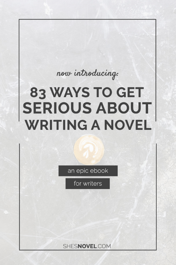 Are you ready to get serious about writing a novel? Check out the amazing writing tips in this epic ebook for writers from ShesNovel.com