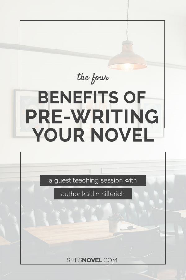 Research? Outlining? Worldbuilding? If your unsure of why these writing tasks are worthwhile, check out this guest post by Kaitlin Hillerich on ShesNovel.com