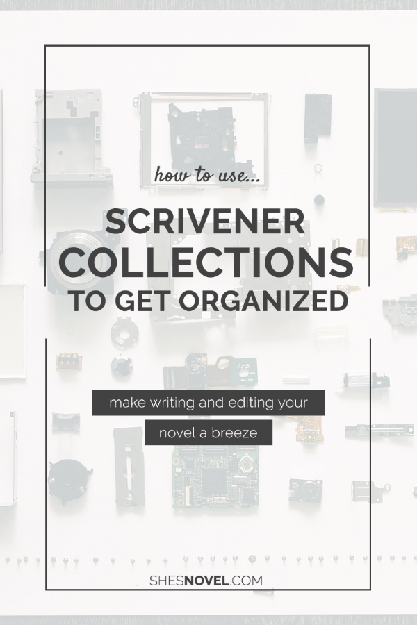 New to Scrivener? Discover how to use Scrivener Collections to Organize Your Novel Project over on ShesNovel.com
