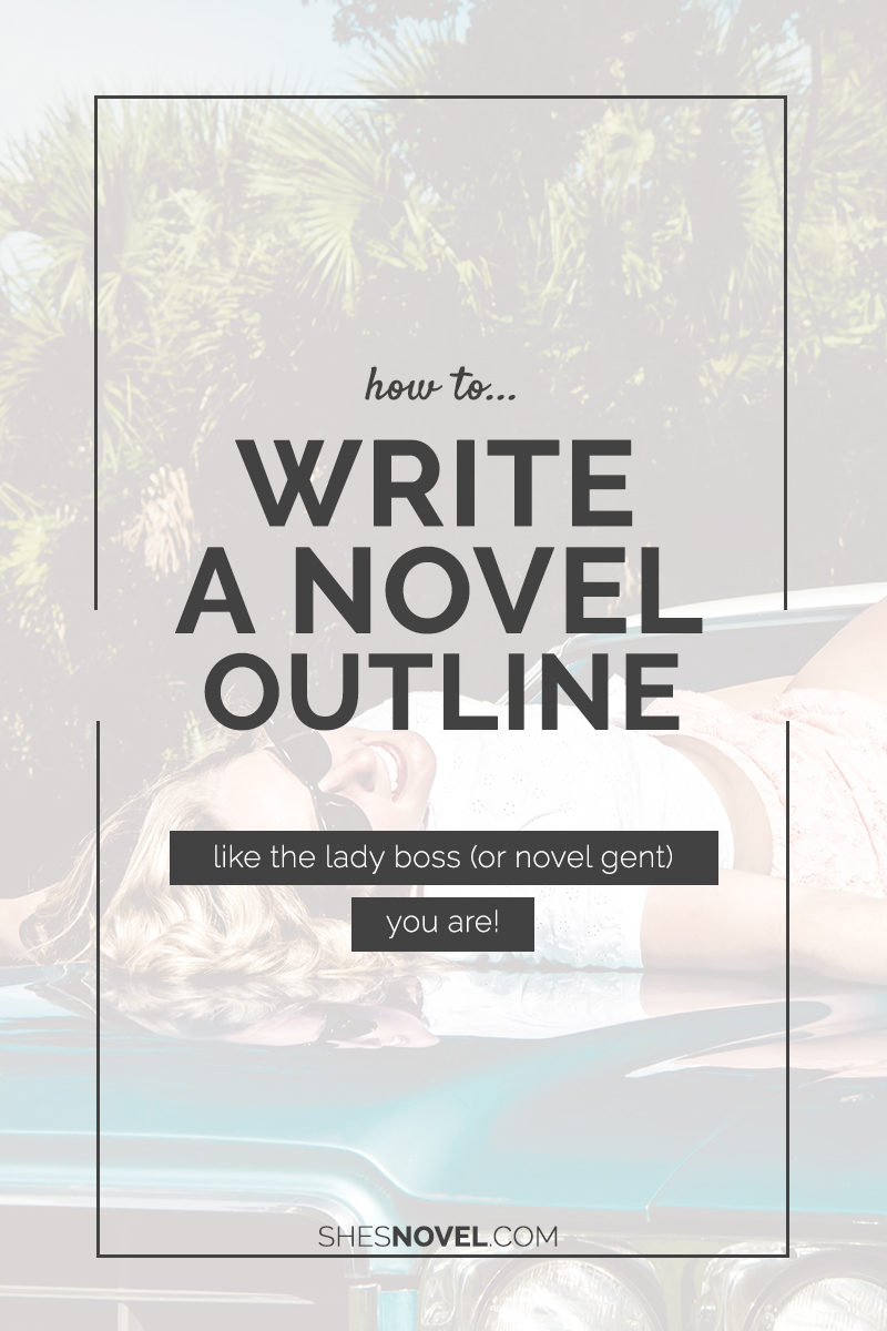 How to write a novel book