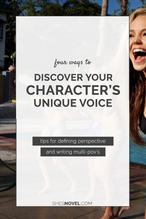 Struggling to write from your main character's perspective? Need help distinguishing the individual voices in your multi-POV novel? I have just the tips you need, m'dear!