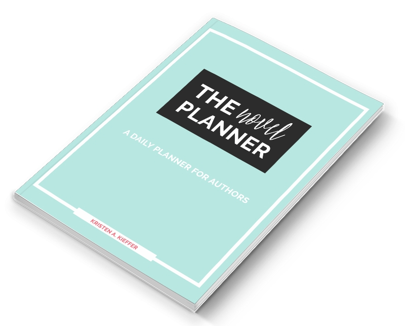 The Novel Planner: a daily planner for authors from She's Novel.
