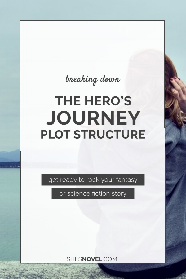 Breaking Down The Hero's Journey Plot Structure (tips for fantasy & sci-fi writers) — She's Novel
