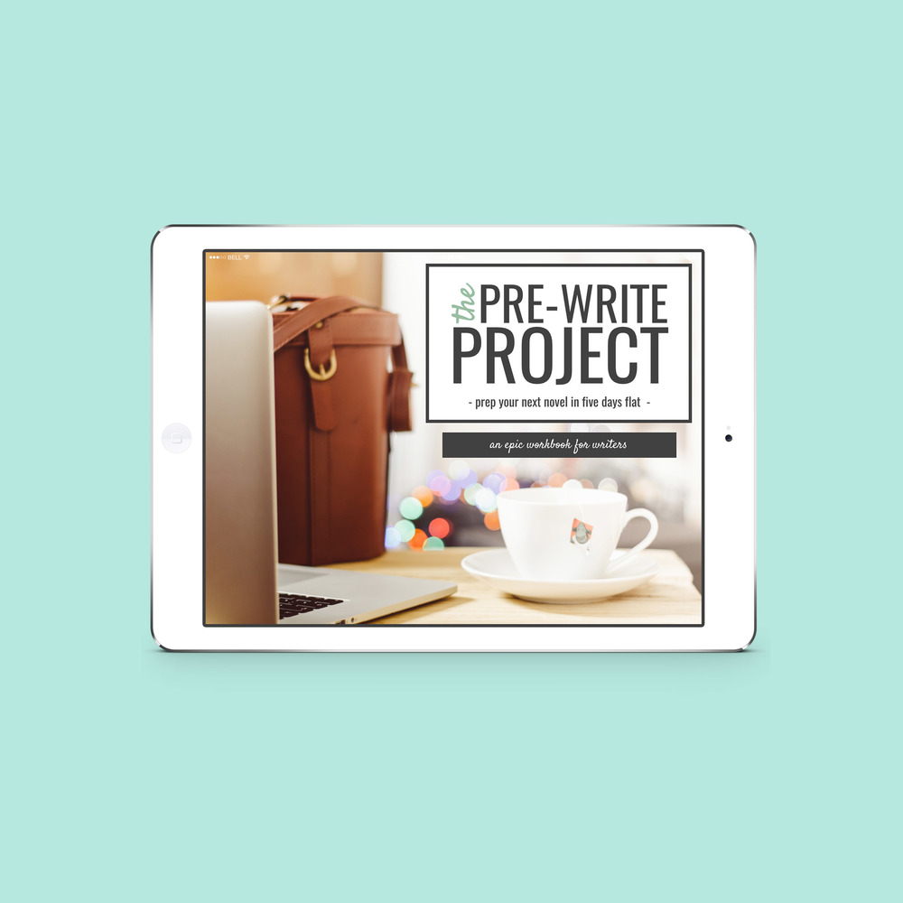 Are you a writer looking to craft your best novel yet? Check out The Pre-Write Project, a digital workbook available soon on ShesNovel.com