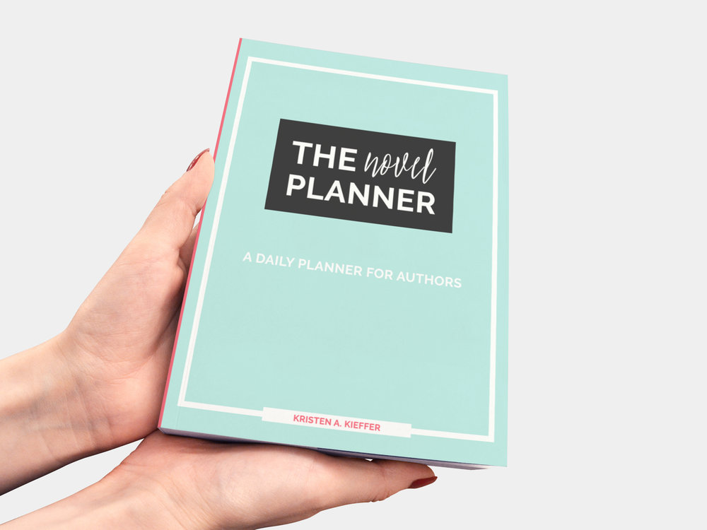You're seriously in love with stories, but are you ready to get serious about writing your own? Check out The Novel Planner, a daily planner for authors by ShesNovel.com
