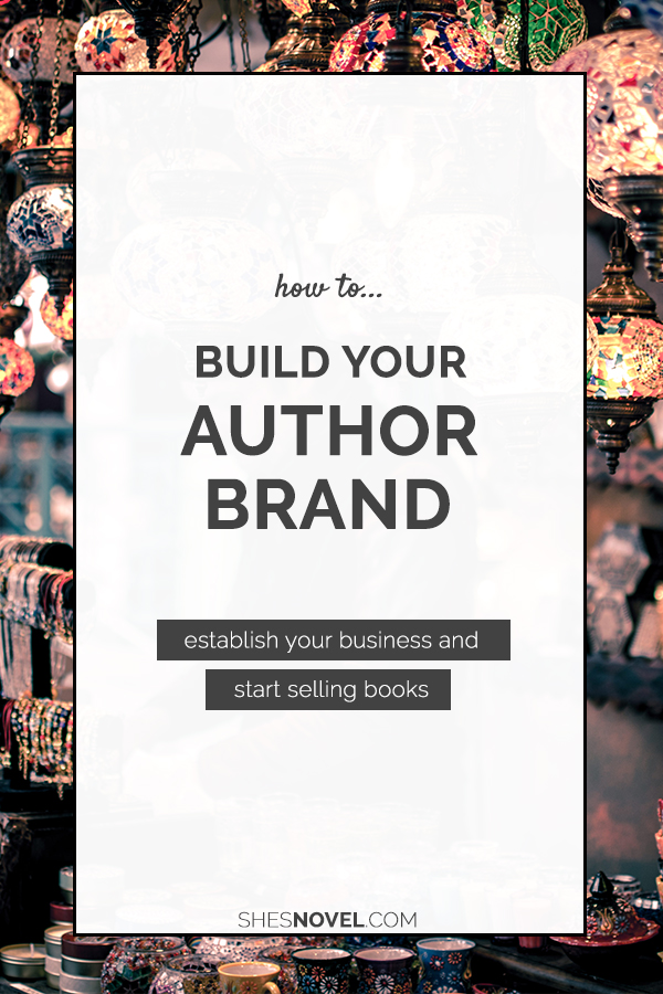 Want to have a successful writing career? Get started today by building your author brand with these tips from Kristen Kieffer over on the She's Novel blog!