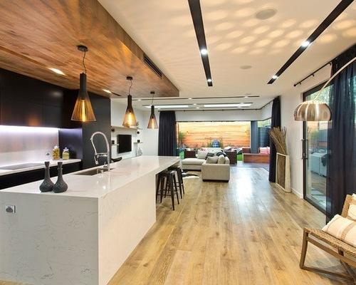 Add Design Style With A Bulkhead Calgary Custom Home Renovations Contractor Livingscape