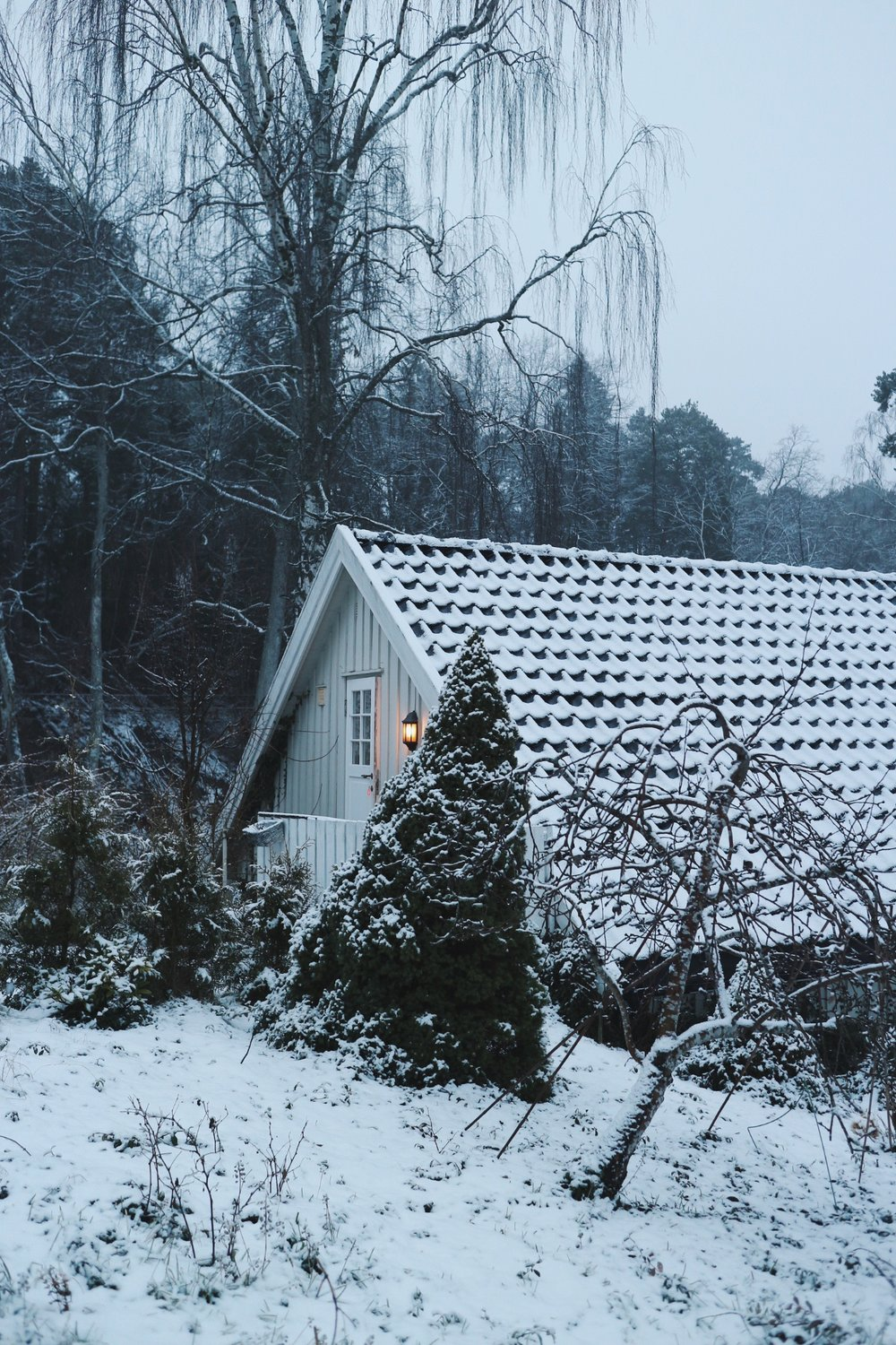 Winter in Scandinavia