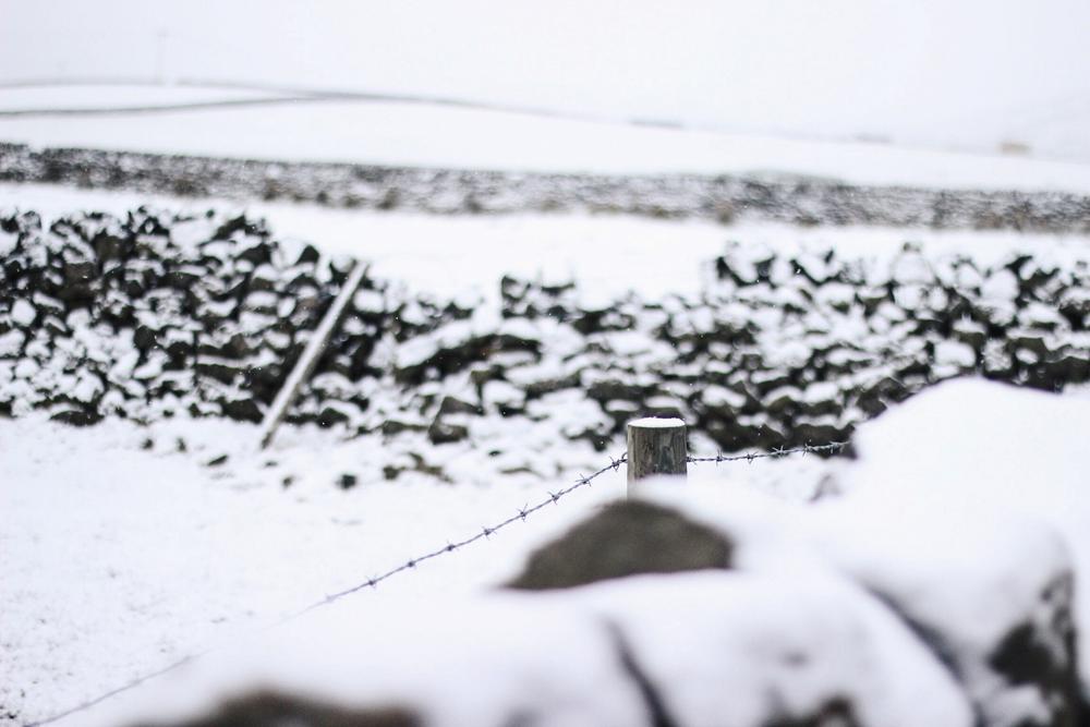 Snow in Todmorden