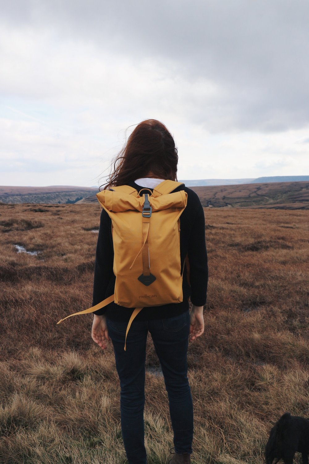 Girl on moors