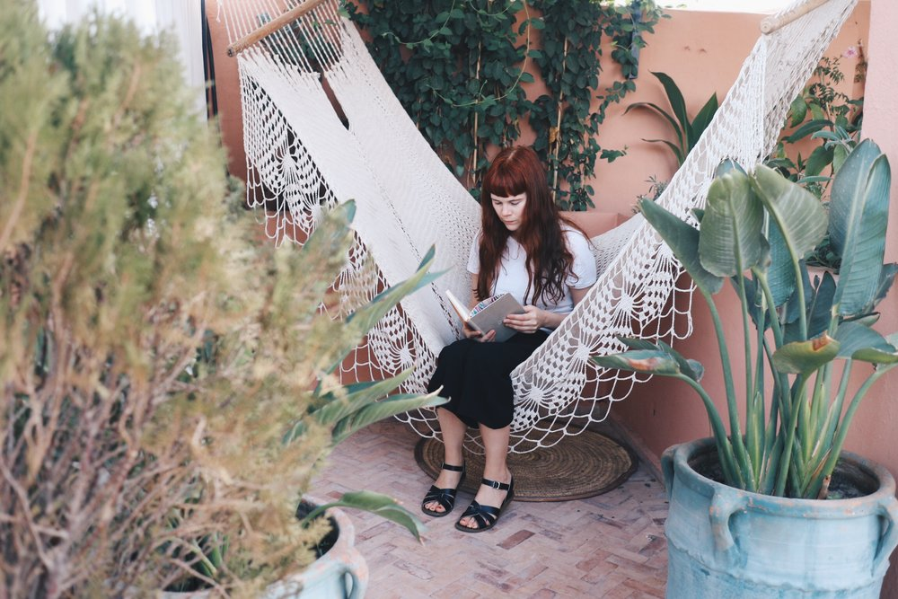 Marrakech Riad Hammock