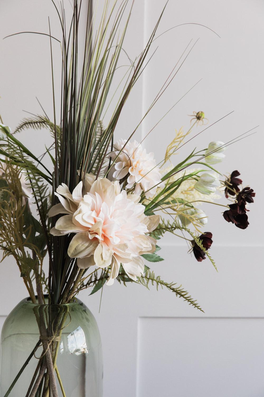 Fake flower bouquet wild bouquet