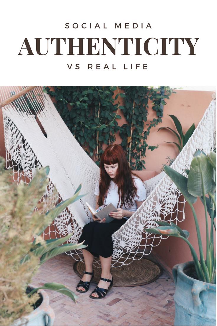 Social Media Authenticity Vs Real Life