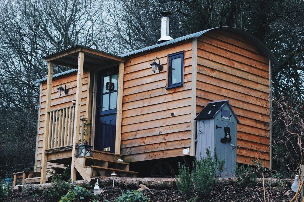 Canopy & Stars Shepherd's Hut