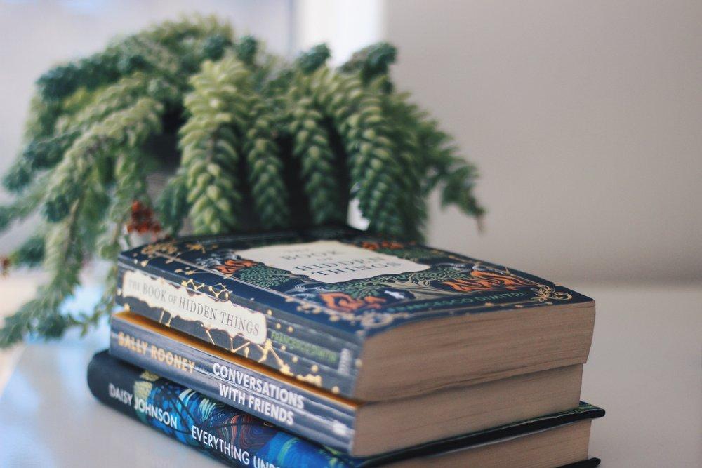 Pile of books  | bookstagram