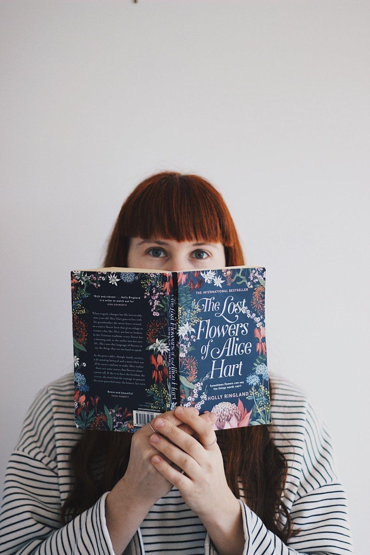 Girl Holding Book | Bookstagram