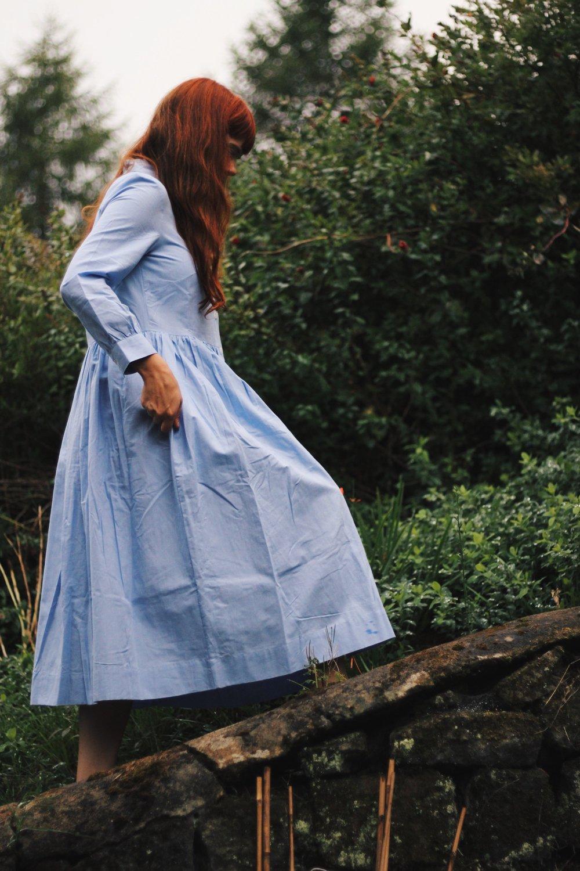 Blue Toast Shirt Dress