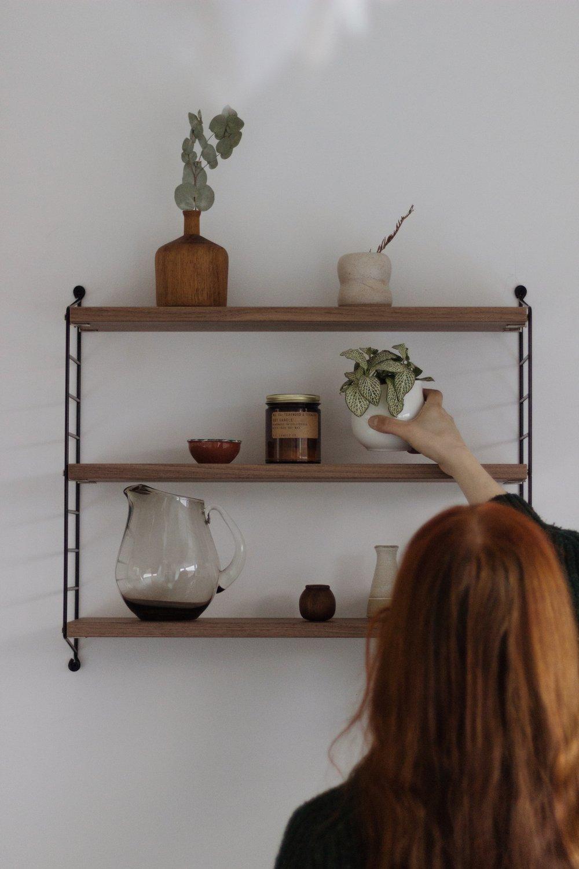 Shelfie, String Shelf, Mid-Century Shelf