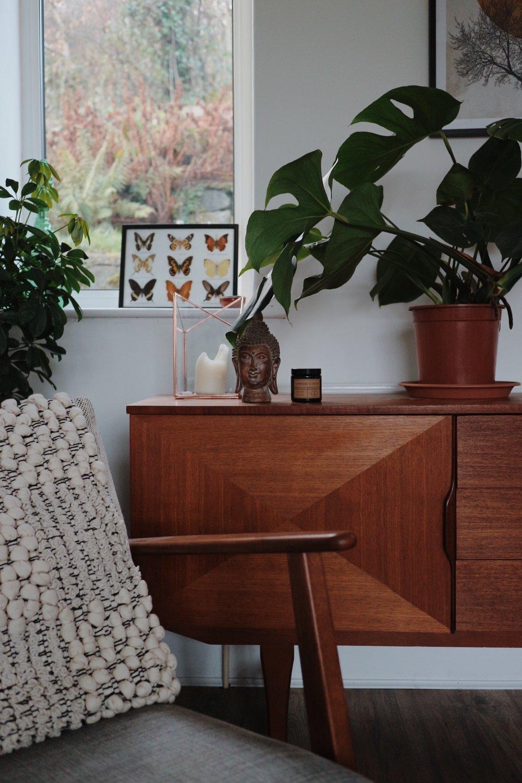 Mid-Century Modern Interiors, Teak Sideboard