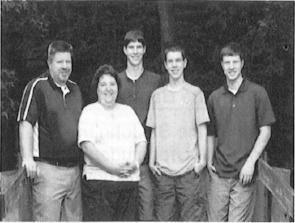 Albers Family (Mark, Amy, Ben, Zach and   Brady)