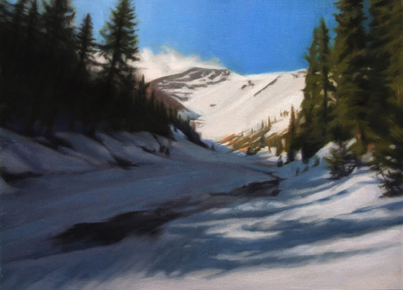 WINTERSCAPE 11x14