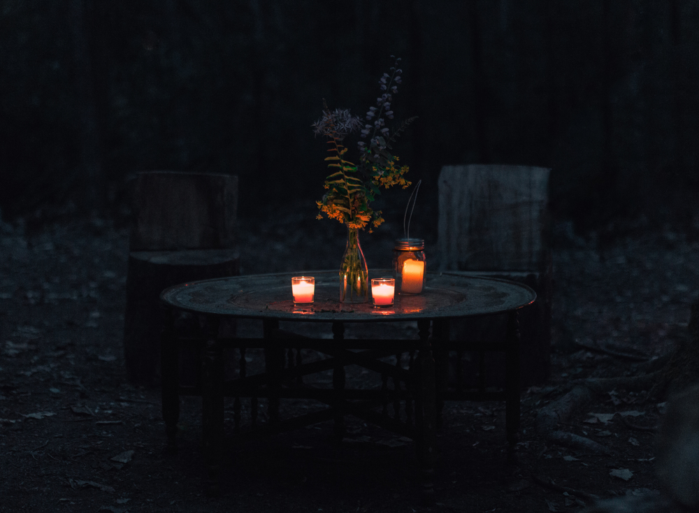 Dinner for two.
