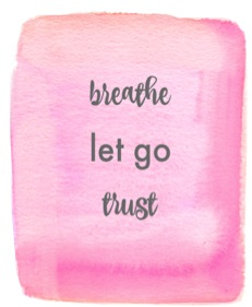 breath let go trust image