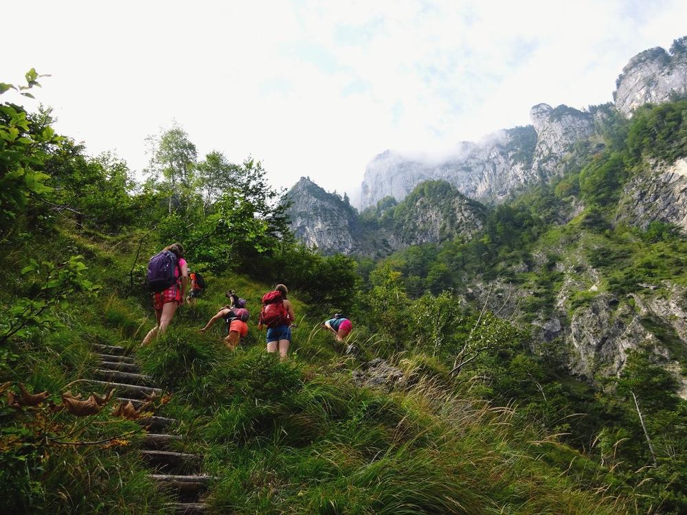Climbing Mt. Untersberg