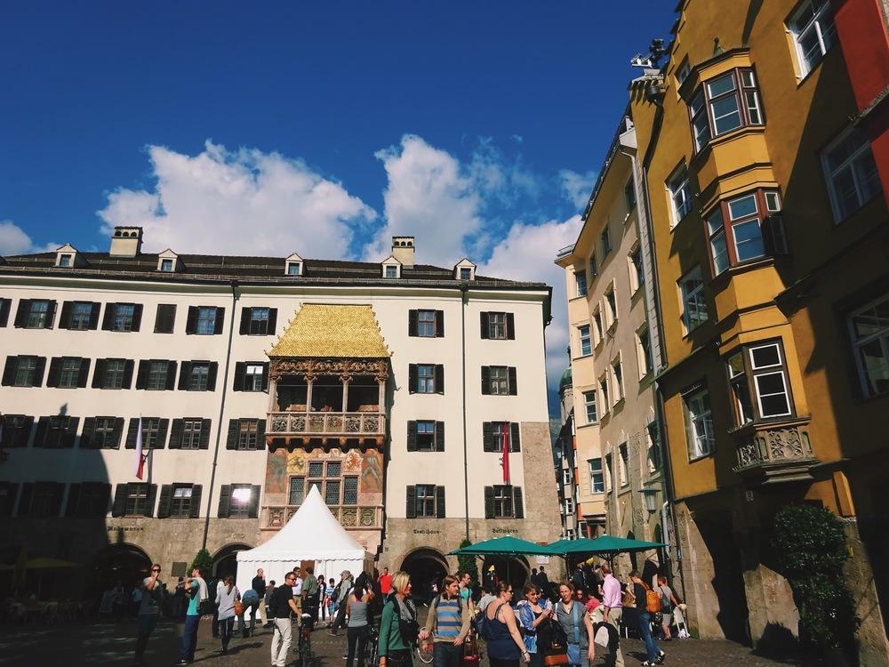 Goldenes Dachl - Innsbruck, Austria
