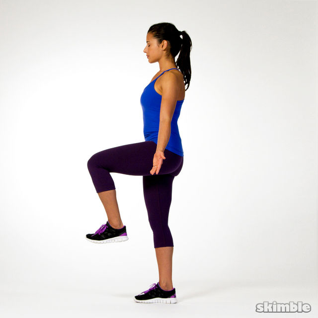 Stork Pose - Practice daily!
