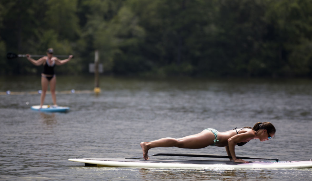 OA Now - Paddleboard Fitness:  Area's Newest Workout isn't as Intimidating as You'd Think